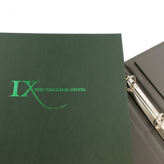Carpetas Hidra para hoteles