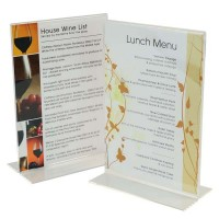 Acrylic Menu Holders