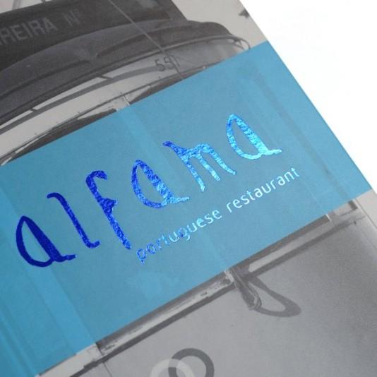 portamenús impresos