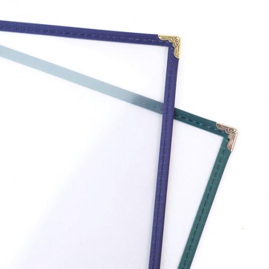 portamenús marco de plástico