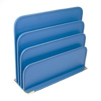 Bonded Leather Letter Racks