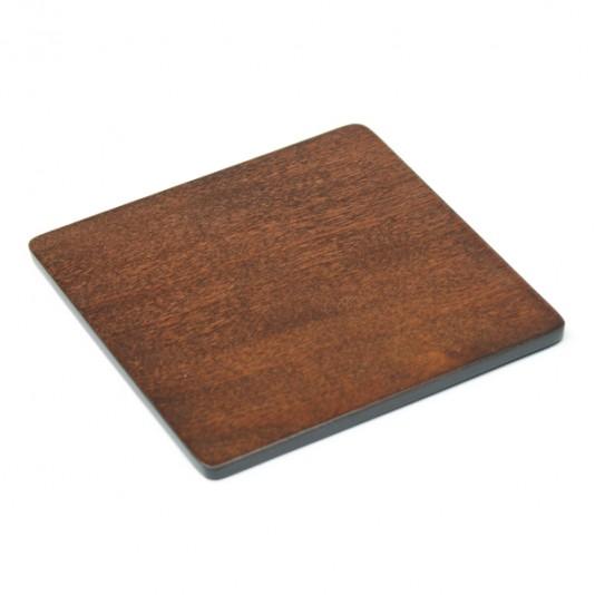 Salvamanteles y posavasos de madera
