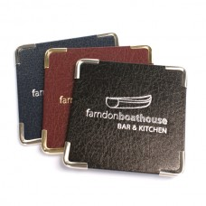 Bonded Leather Placemats and Coasters